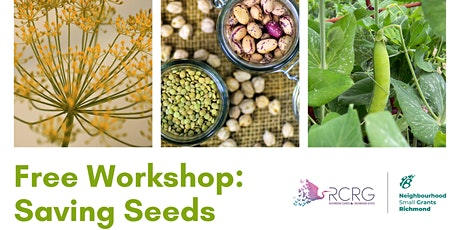 Free Seed Saving Workshop - Virtual via Zoom tickets