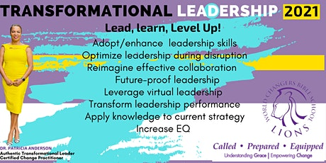 Transformational Leadership 2021 - Lead, Learn, Level Up! tickets