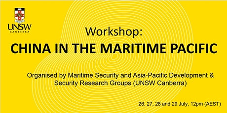 China in the Maritime Pacific Workshop Tickets