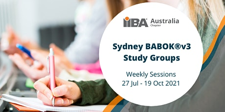 IIBA Sydney: BABOK®v3 Study Groups tickets