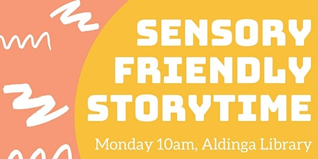 Sensory Storytime (for ages 2+ years)- Aldinga Library tickets