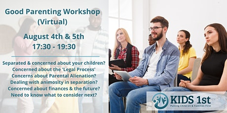 The Good Parenting Workshop tickets