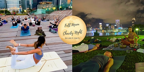 July Full Moon Heart Opening Charity Night- Forrest Yoga & Sound Healing tickets