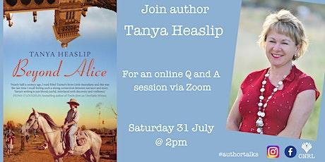 Tanya Heaslip Online Author Talk tickets