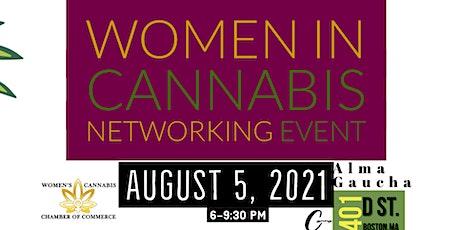 Massachusetts Women's Cannabis Chamber of Commerce Networking Event tickets