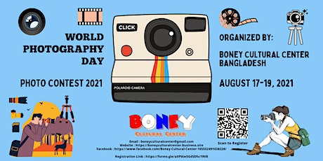 World Photography Day Photo Contest 2021 tickets