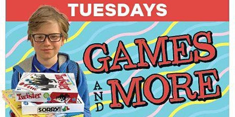 Games and More tickets