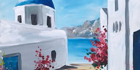 Somewhere in Santorini Brush Party – Witney tickets