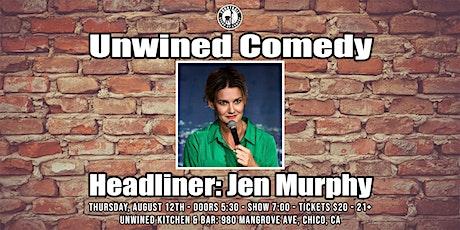 Unwined Comedy: Jen Murphy tickets