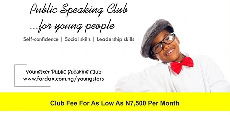 PUBLIC SPEAKING CLUB FOR TEENS tickets