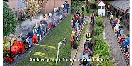 Stoke Park Railway - Miniature Train Rides tickets
