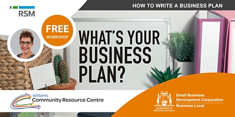 How to Write a Business Plan (Williams) tickets