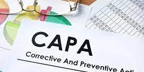 Elements of a Corrective and Preventive Action (CAPA) Program tickets
