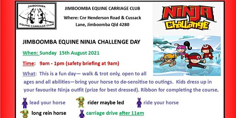 Jimboomba Equine Ninja Challenge Fun Day tickets