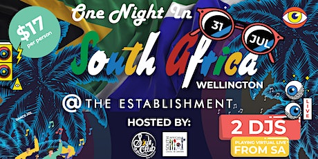One Night in South Africa Wellington @ The Establishment tickets