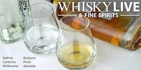 Whisky Live Brisbane 2021 tickets