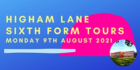 Sixth Form Tour - 2021 tickets