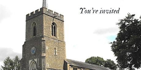St Andrew's Much Hadham 800 Anniversary Tea & Tree Planting Service tickets