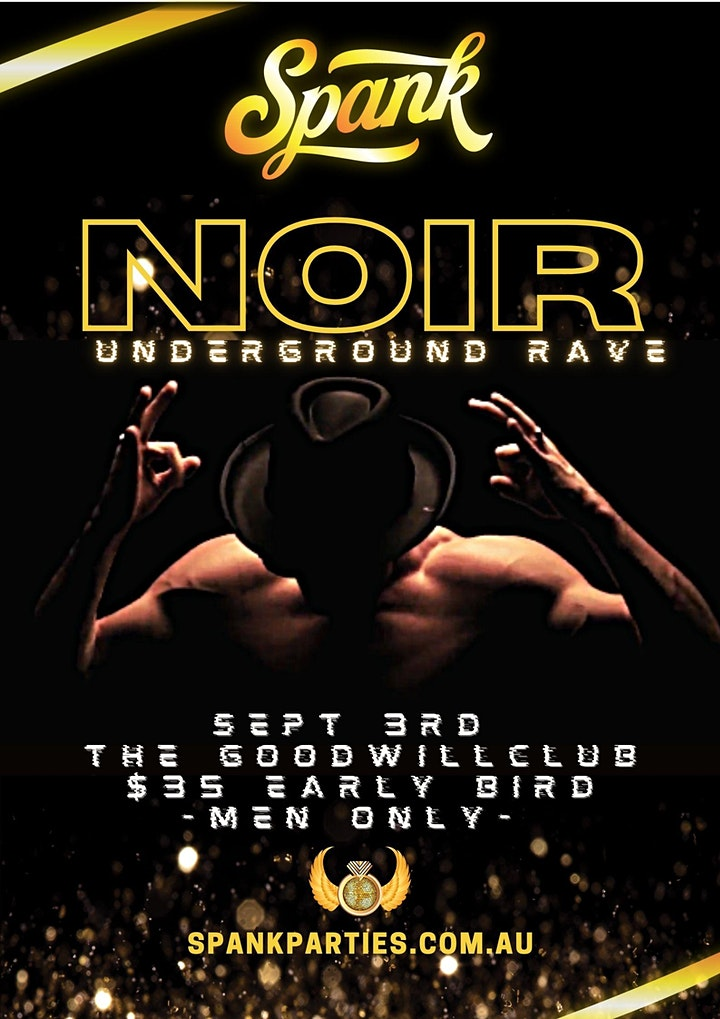 Noir 2 - Spank Underground Rave image