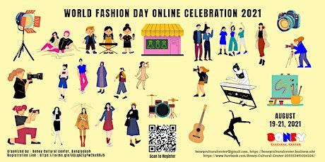 World Fashion Day Online Celebration 2021 tickets