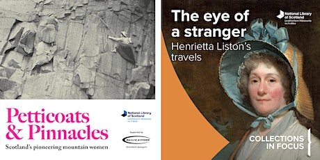 Petticoats & Pinnacles and The Eye of a Stranger tickets