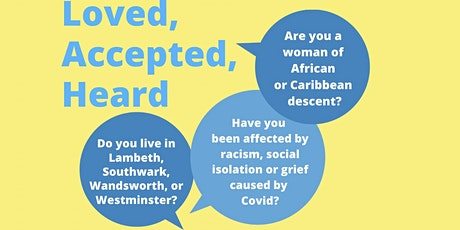 Loved, Accepted, Heard Workshop tickets