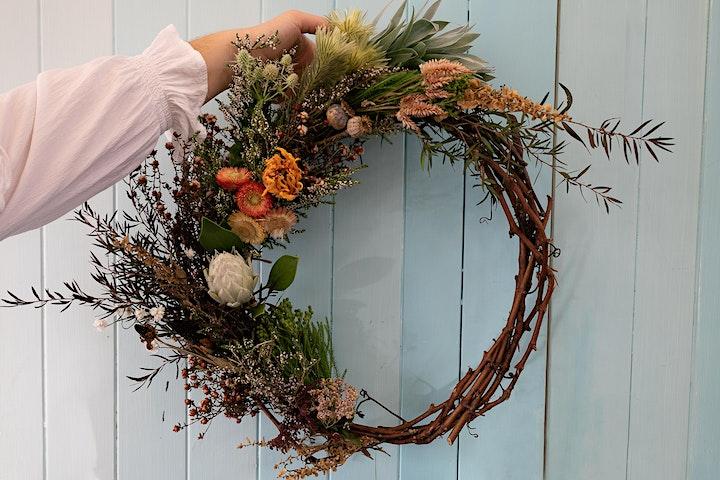 Natural Wreath Making Workshop image