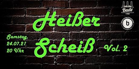 Biertasting - Heißer Scheiß _ Vol.2 - online Edition Tickets
