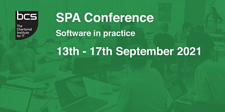 SPA Conference 2021 tickets