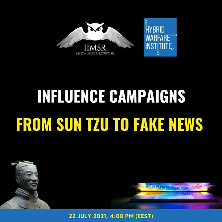 INFLUENCE CAMPAIGNS: FROM SUN TZU TO FAKE NEWS image