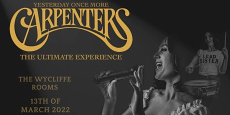 The Carpenters Ultimate Experience tickets