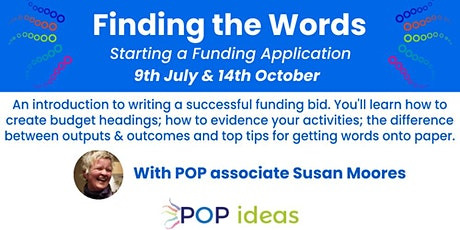 """""""Finding the Words"""" - Starting a Funding Application tickets"""