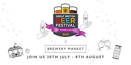 Great British Beer Festival at Brewery Market, Twickenham tickets