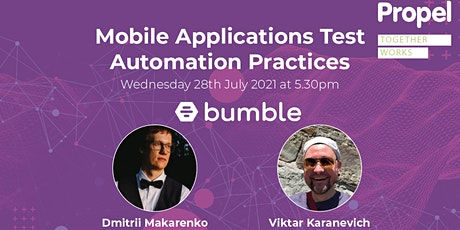 Mobile Applications Test Automation Practices tickets
