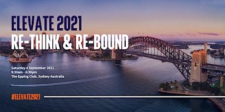 Elevate 21 - Re-Think & Re-Bound tickets