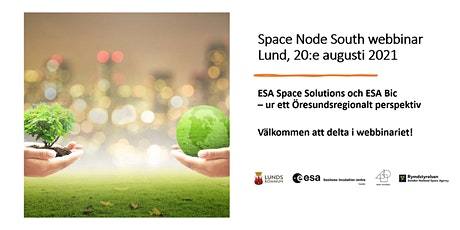 Space Node South Webbinar 2021 biljetter