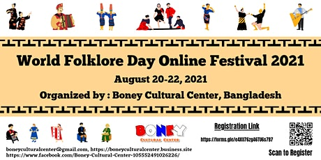 World Folklore Day Online Festival 2021 tickets
