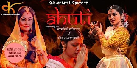 Celebration of Guru Purnima and launch of the new musical Ahuti tickets