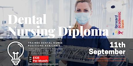 Dental Nursing Diploma in Reading, September 11 | Trainee Dental Nurse tickets