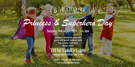 Princess & Superhero Day tickets