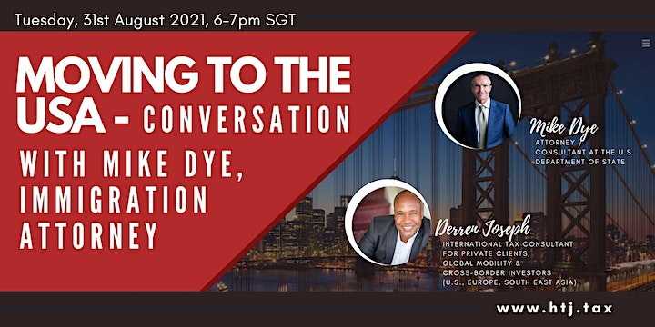 Moving to USA - Conversation with Mike Dye, Immigration Attorney image