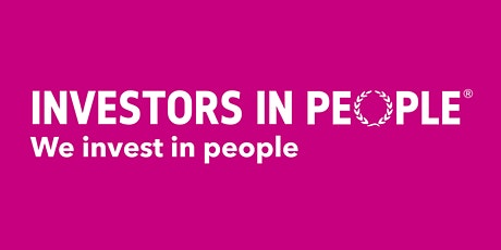 Introduction to We invest in people tickets