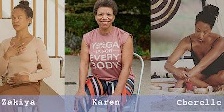 Black women's virtual wellness retreat - July 2021 tickets