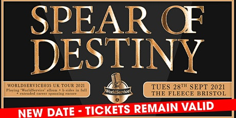 Spear Of Destiny tickets