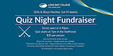 Girls & Boys Hockey 1st XI teams Quiz Night Fundraiser tickets