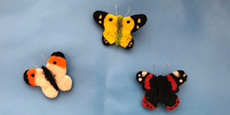 Butterfly Walk and Needlefelting Craft Session - Hutchinson's Bank tickets