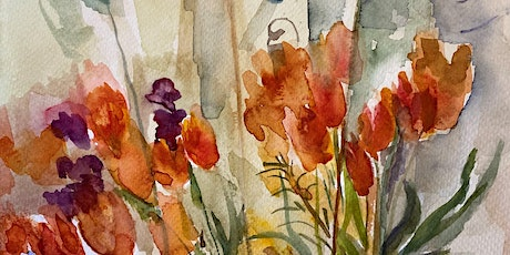 Watercolour workshop  with Sarah Knox – colour beginnings tickets