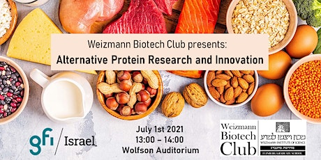 Alternative Protein Research and Innovation tickets