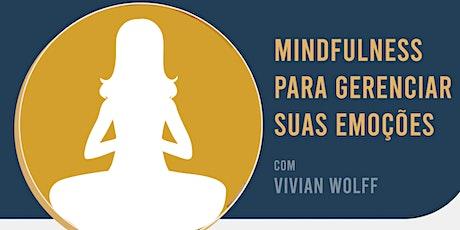 Mindfulness para Bem-estar e emoções tickets
