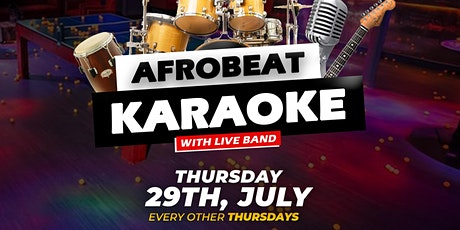 Afrobeat Karaoke with Live Band Thursdays tickets